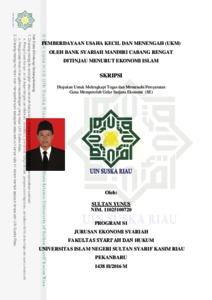 Pemberdayaan Usaha Kecil Dan Menengah Ukm Oleh Bank Syariah Mandiri Cabang Rengat Ditinjau Menurut Ekonomi Islam Universitas Islam Negeri Sultan Syarif Kasim Riau Repository