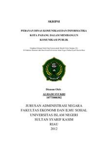 Peranan Dinas Komunikasi Dan Informatika Kota Padang Dalam